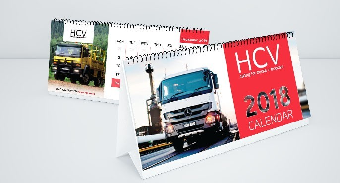 stationery HCV calendar